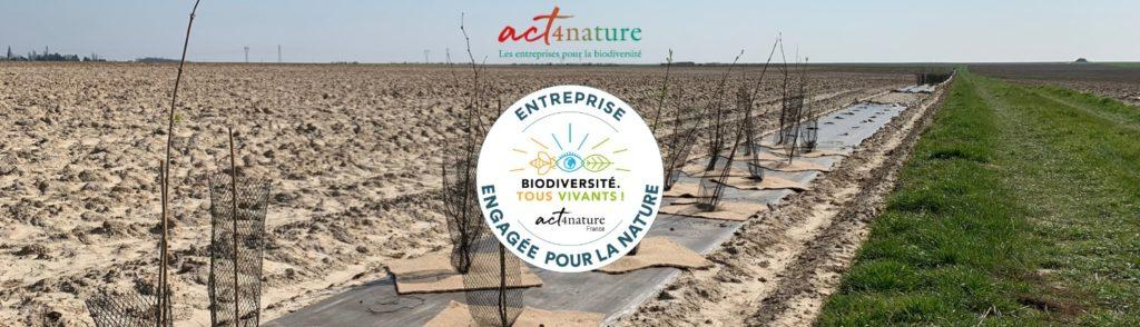 entreprise engagée pour la nature, act for nature