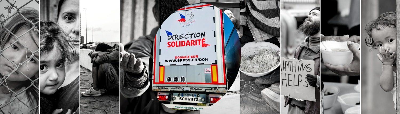 Direction solidarité avec le secoure populaire